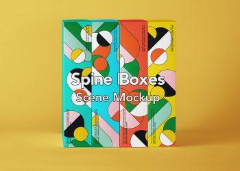 Free Boxes Packaging Mockup Set