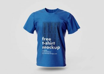 T-Shirt PSD Free Mockups